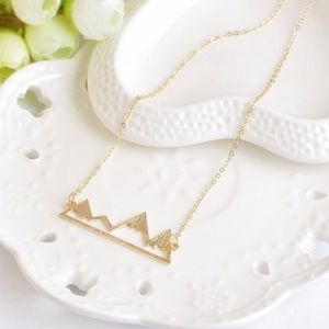 Jewelry - Mountain Necklace